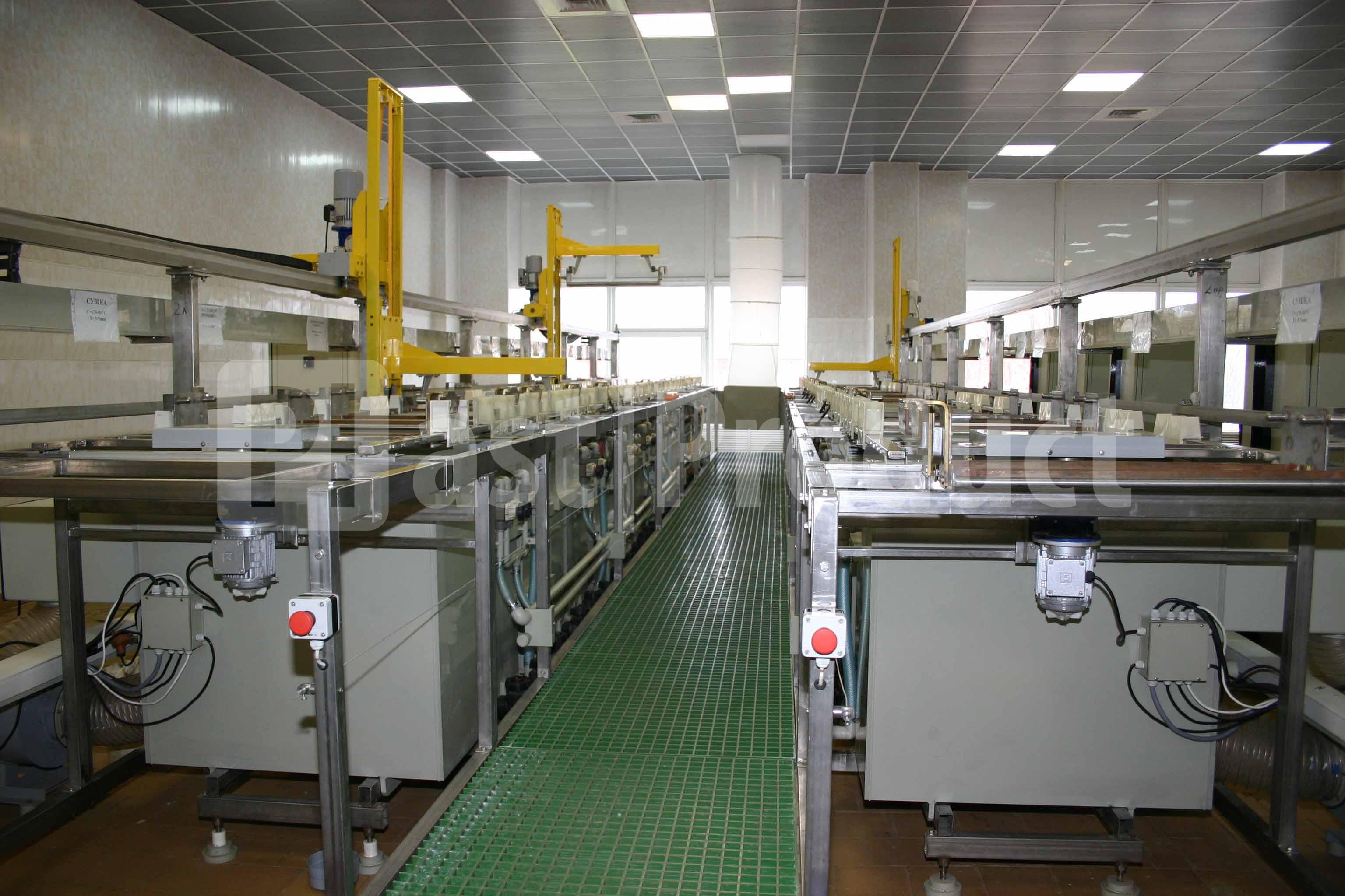 Производственная гальваническая линия