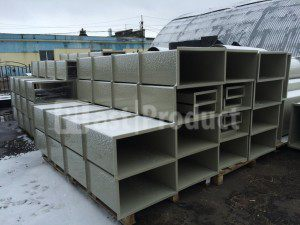 Прямоугольные пластиковые воздуховоды