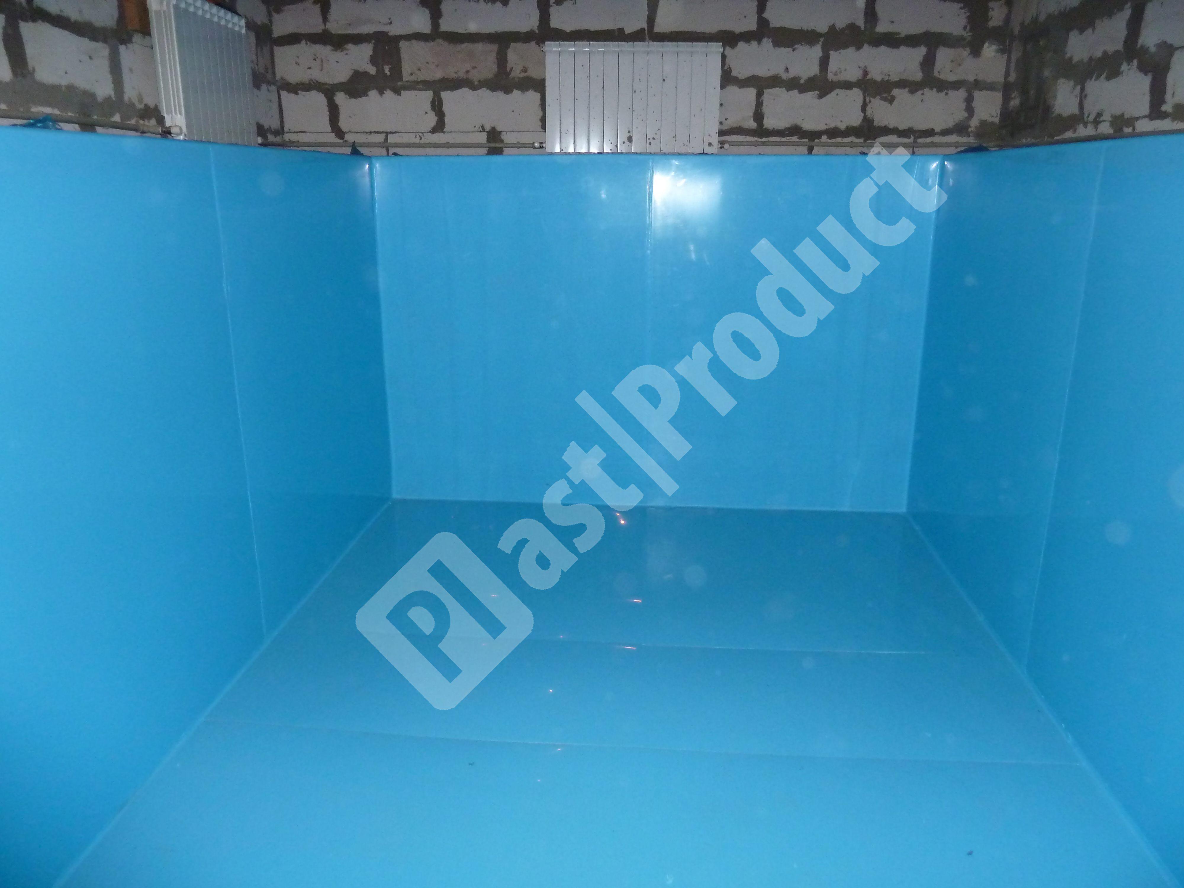 Пластиковые полипропиленовые бассейны для дома