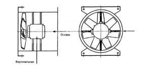 Схема-расположения-датчиков-для-балансировки-осевого-вентилятора-вертикальной-установки