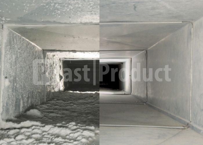 Очистка и дезинфекция приточной вентиляции