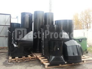 Воздуховоды из полипропилена PPs EL