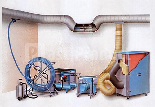 Оборудование для чистки вентиляции рис. №3