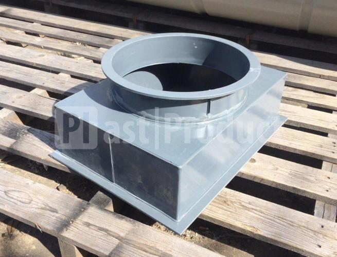 Воздуховод из ПВХ (PVC) фото