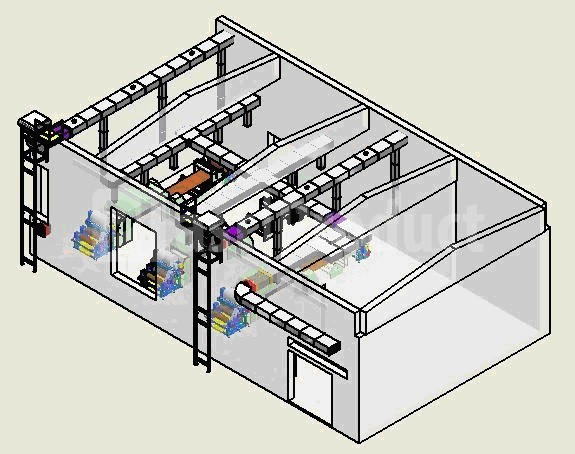 Вентиляция рабочих мест промышленного цеха