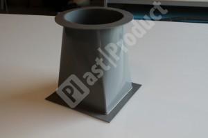 Воздуховод PPs пластиковые