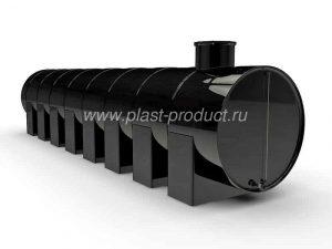 Пластиковые емкости под топливо горизонтальные для нефтепродуктов