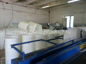 пластиковый цилиндрический воздуховод