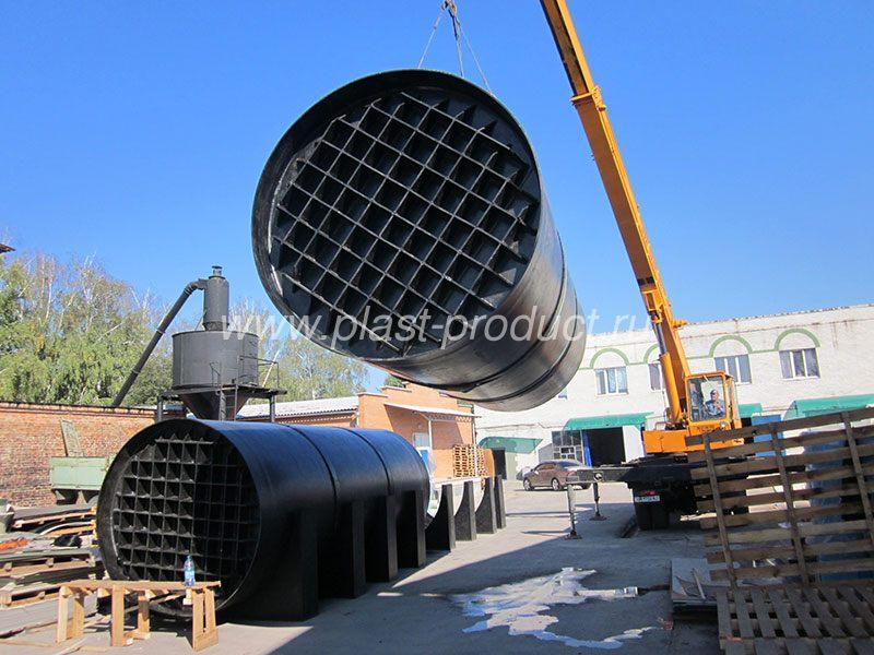 Резервуары пластиковые под топливод топливо и ГСМ