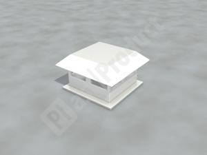 Зонт прямоугольный серый