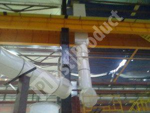 воздуховоды для вентиляции помещений из ПВХ пластика