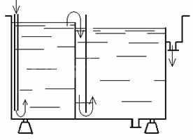 Ванна двухкамерная с изливом