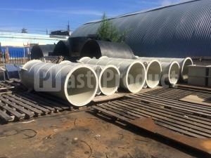 Воздуховоды пластиковые для круглой вентиляции