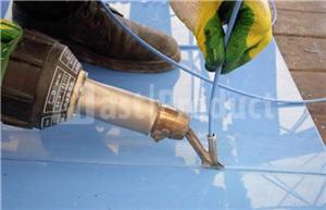 Сварка пластиковых воздуховодов