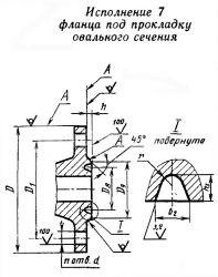 чертеж фланца 5
