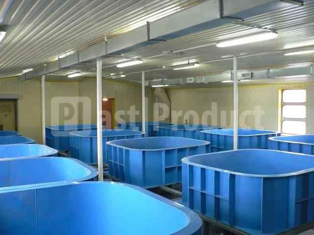 Емкости пластиковые для рыбы