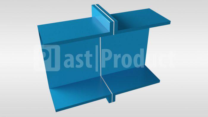 Фланцевое соединение прямоугольной вентиляции