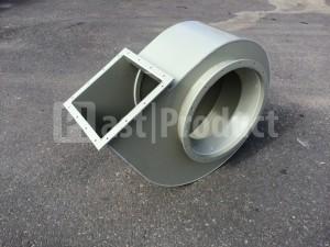 Корпус для промышленного вентилятора вид сбоку