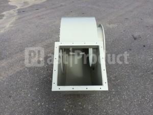 Корпус для промышленного вентилятора вид сверху