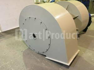 Корпус для вентилятора из полипропилена вид сзади