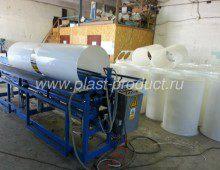 цилиндрический воздуховод для вентиляции из пластика