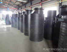 колодцы полиэтиленовые для канализации