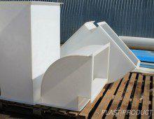 Элементы и фасонные части из полипропилена для вентиляции