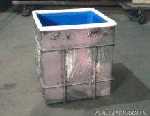 гальванические ванны в металлокаркасе