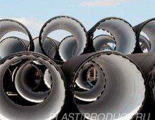 Трубы из пластика, ПНД большого диаметра