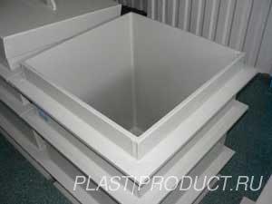ванны гальванические из пластика
